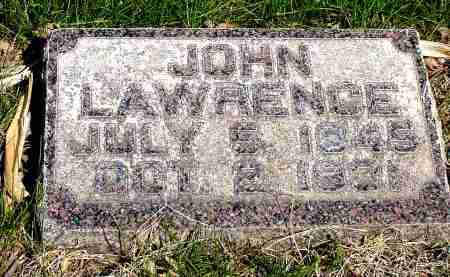 LAWRENCE, JOHN - Box Butte County, Nebraska | JOHN LAWRENCE - Nebraska Gravestone Photos