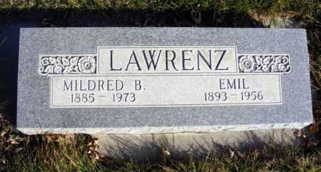 LAWRENZ, EMIL - Box Butte County, Nebraska | EMIL LAWRENZ - Nebraska Gravestone Photos