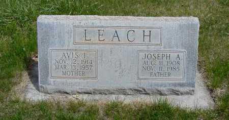 LEACH, JOSEPH A. - Box Butte County, Nebraska | JOSEPH A. LEACH - Nebraska Gravestone Photos