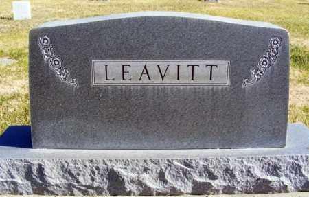 LEAVITT, FAMILY - Box Butte County, Nebraska | FAMILY LEAVITT - Nebraska Gravestone Photos