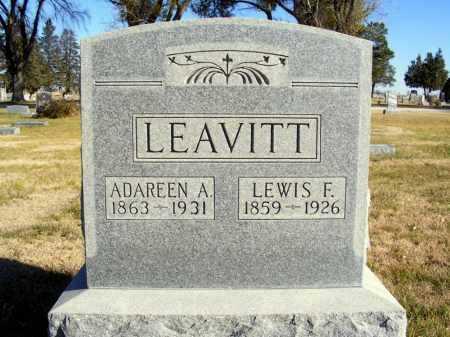 LEAVITT, ADAREEN A. - Box Butte County, Nebraska | ADAREEN A. LEAVITT - Nebraska Gravestone Photos