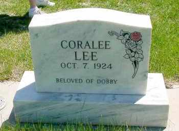 LEE, CORALEE - Box Butte County, Nebraska | CORALEE LEE - Nebraska Gravestone Photos