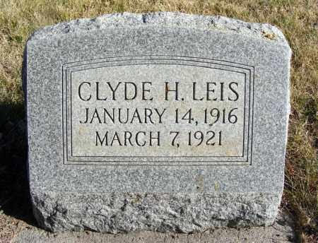 LEIS, CLYDE H. - Box Butte County, Nebraska | CLYDE H. LEIS - Nebraska Gravestone Photos
