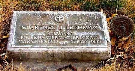 LEISHMAN, CLARENCE J. - Box Butte County, Nebraska | CLARENCE J. LEISHMAN - Nebraska Gravestone Photos