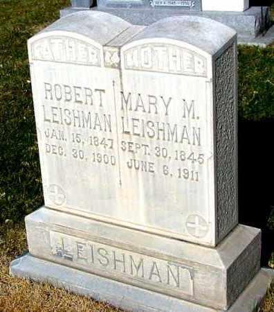 LEISHMAN, MARY M. - Box Butte County, Nebraska   MARY M. LEISHMAN - Nebraska Gravestone Photos
