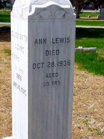 LEWIS, ANN - Box Butte County, Nebraska | ANN LEWIS - Nebraska Gravestone Photos