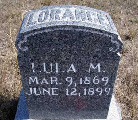 LORANCE, LULA M. - Box Butte County, Nebraska   LULA M. LORANCE - Nebraska Gravestone Photos