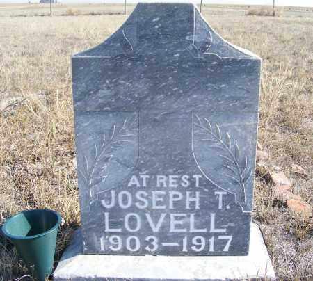 LOVELL, JOSEPH T. - Box Butte County, Nebraska   JOSEPH T. LOVELL - Nebraska Gravestone Photos