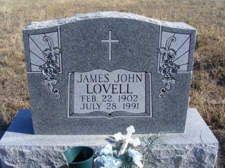 LOVELL, JAMES JOHN - Box Butte County, Nebraska | JAMES JOHN LOVELL - Nebraska Gravestone Photos