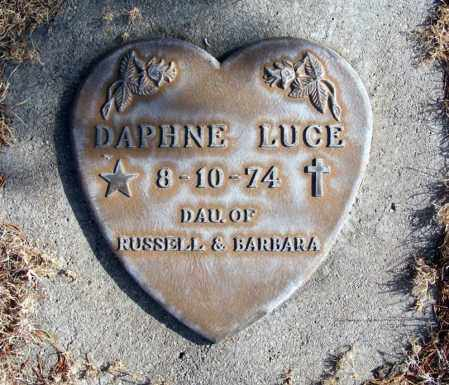 LUCE, DAPHNE - Box Butte County, Nebraska | DAPHNE LUCE - Nebraska Gravestone Photos