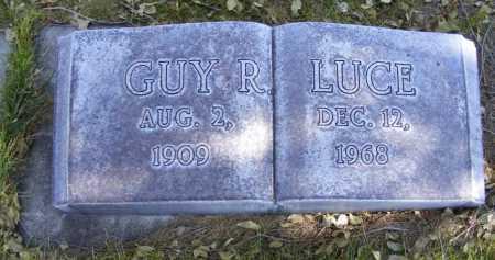 LUCE, GUY R. - Box Butte County, Nebraska | GUY R. LUCE - Nebraska Gravestone Photos