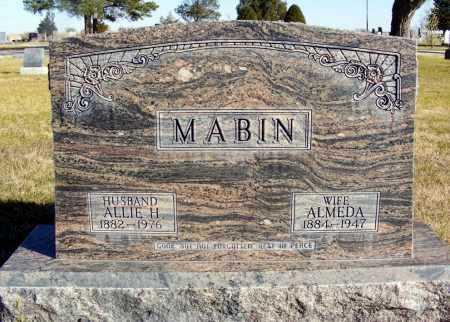MABIN, ALLIE H. - Box Butte County, Nebraska | ALLIE H. MABIN - Nebraska Gravestone Photos