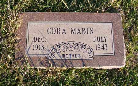 MABIN, CORA - Box Butte County, Nebraska | CORA MABIN - Nebraska Gravestone Photos