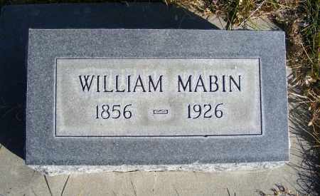 MABIN, WILLIAM - Box Butte County, Nebraska | WILLIAM MABIN - Nebraska Gravestone Photos