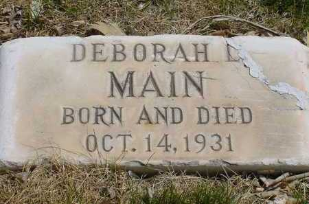 MAIN, DEBORAH L. - Box Butte County, Nebraska | DEBORAH L. MAIN - Nebraska Gravestone Photos