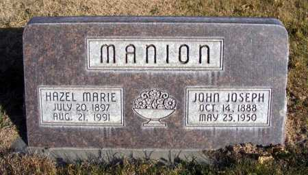 MANION, HAZEL MARIE - Box Butte County, Nebraska | HAZEL MARIE MANION - Nebraska Gravestone Photos