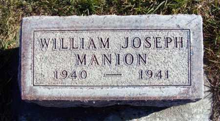 MANION, WILLIAM JOSEPH - Box Butte County, Nebraska | WILLIAM JOSEPH MANION - Nebraska Gravestone Photos