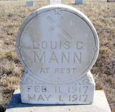 MANN, LOUIS C. - Box Butte County, Nebraska | LOUIS C. MANN - Nebraska Gravestone Photos