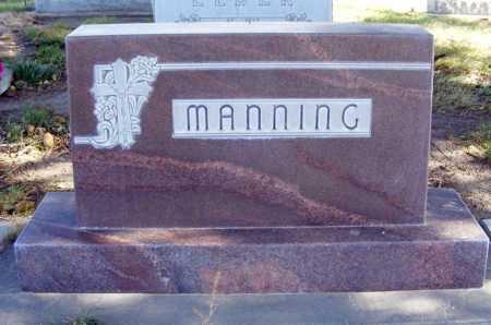 MANNING, FAMILY - Box Butte County, Nebraska   FAMILY MANNING - Nebraska Gravestone Photos