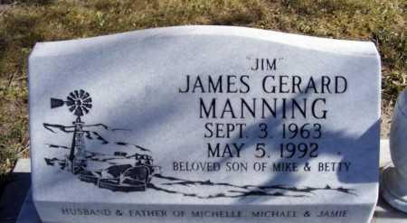 "MANNING, JAMES GERARD ""JIM"" - Box Butte County, Nebraska   JAMES GERARD ""JIM"" MANNING - Nebraska Gravestone Photos"