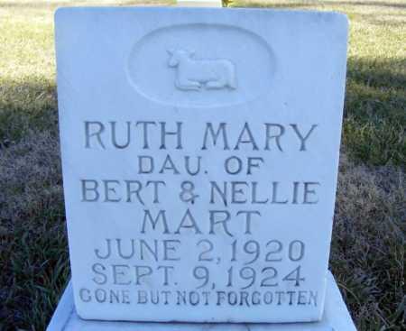 MART, RUTH MARY - Box Butte County, Nebraska | RUTH MARY MART - Nebraska Gravestone Photos