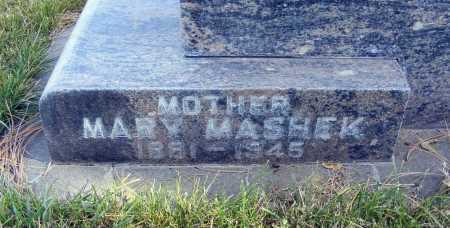 MASHEK, MARY - Box Butte County, Nebraska | MARY MASHEK - Nebraska Gravestone Photos