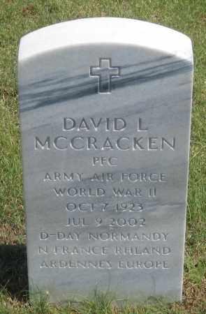 MCCRACKEN, DAVID  L. - Box Butte County, Nebraska | DAVID  L. MCCRACKEN - Nebraska Gravestone Photos