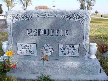 MCDUFFIE, WILMA L. - Box Butte County, Nebraska | WILMA L. MCDUFFIE - Nebraska Gravestone Photos