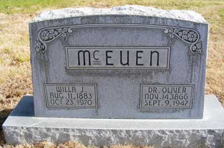 MCEUEN, WILLA J. - Box Butte County, Nebraska | WILLA J. MCEUEN - Nebraska Gravestone Photos