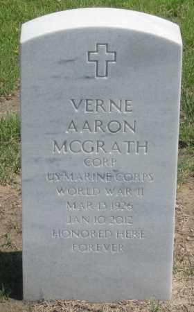 MCGRATH, VERNE  AARON - Box Butte County, Nebraska | VERNE  AARON MCGRATH - Nebraska Gravestone Photos