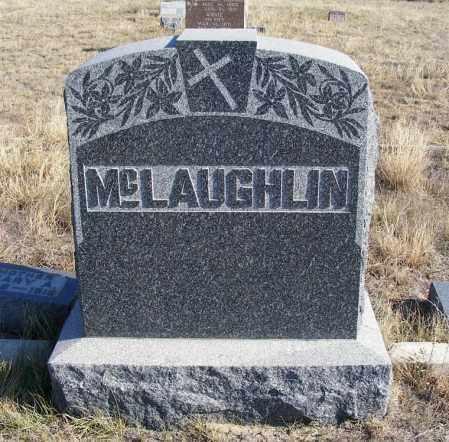 MCLAUGHLIN, FAMILY STONE - Box Butte County, Nebraska   FAMILY STONE MCLAUGHLIN - Nebraska Gravestone Photos