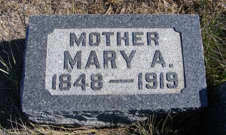 MCLAUGHLIN, MARY A. - Box Butte County, Nebraska | MARY A. MCLAUGHLIN - Nebraska Gravestone Photos
