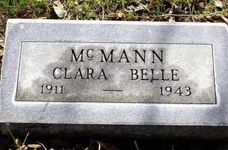 MCMANN, CLARA BELLE - Box Butte County, Nebraska | CLARA BELLE MCMANN - Nebraska Gravestone Photos