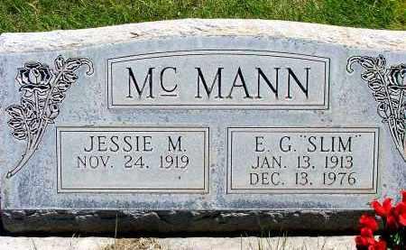 HENDERSON MCMANN, JESSIE M. - Box Butte County, Nebraska   JESSIE M. HENDERSON MCMANN - Nebraska Gravestone Photos