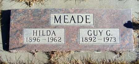 MEADE, GUY G. - Box Butte County, Nebraska | GUY G. MEADE - Nebraska Gravestone Photos