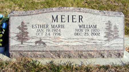 MEIER, ESTHER MARIE - Box Butte County, Nebraska | ESTHER MARIE MEIER - Nebraska Gravestone Photos