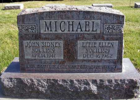 MICHAEL, EFFIE ELLEN - Box Butte County, Nebraska | EFFIE ELLEN MICHAEL - Nebraska Gravestone Photos