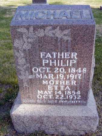 MICHAEL, ETTA - Box Butte County, Nebraska | ETTA MICHAEL - Nebraska Gravestone Photos