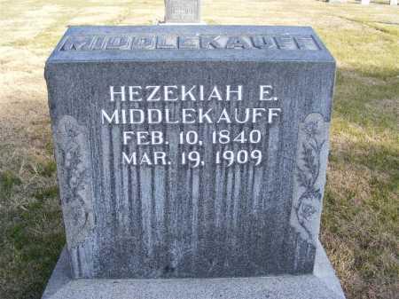 MIDDLEKAUFF, HEZEKIAH E. - Box Butte County, Nebraska | HEZEKIAH E. MIDDLEKAUFF - Nebraska Gravestone Photos