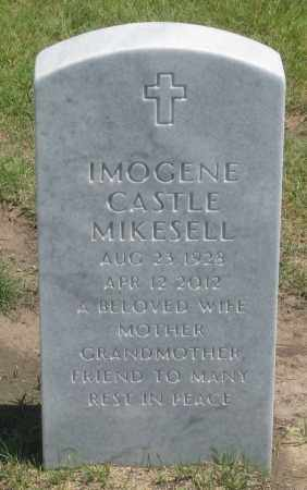 CASTLE MIKESELL, IMOGENE - Box Butte County, Nebraska | IMOGENE CASTLE MIKESELL - Nebraska Gravestone Photos
