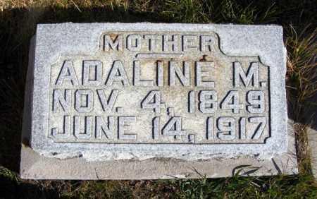 MILLER, ADALINE M. - Box Butte County, Nebraska | ADALINE M. MILLER - Nebraska Gravestone Photos