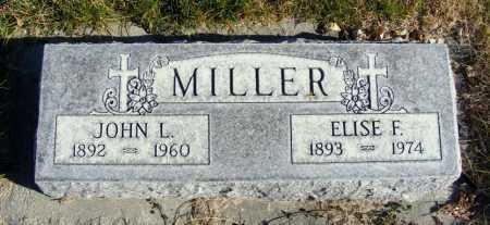 MILLER, JOHN L. - Box Butte County, Nebraska | JOHN L. MILLER - Nebraska Gravestone Photos