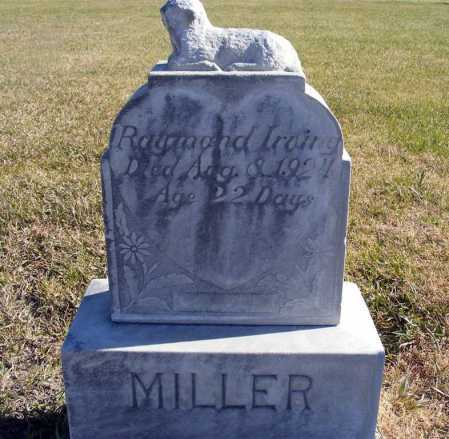 MILLER, RAYMOND IRVING - Box Butte County, Nebraska | RAYMOND IRVING MILLER - Nebraska Gravestone Photos