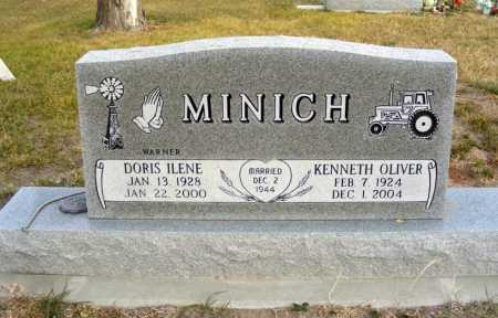 MINICH, DORIS ILENE - Box Butte County, Nebraska | DORIS ILENE MINICH - Nebraska Gravestone Photos