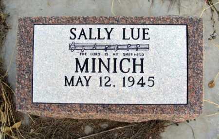MINICH, SALLY LUE - Box Butte County, Nebraska | SALLY LUE MINICH - Nebraska Gravestone Photos