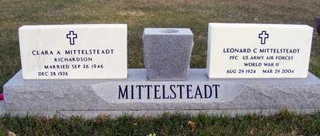 MITTELSTEADT, LEONARD C. - Box Butte County, Nebraska | LEONARD C. MITTELSTEADT - Nebraska Gravestone Photos