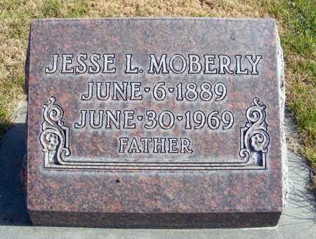 MOBERLY, JESSE L. - Box Butte County, Nebraska | JESSE L. MOBERLY - Nebraska Gravestone Photos