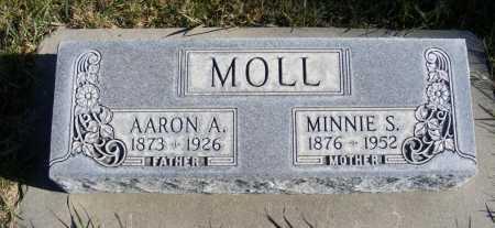 MOLL, MINNIE S. - Box Butte County, Nebraska | MINNIE S. MOLL - Nebraska Gravestone Photos