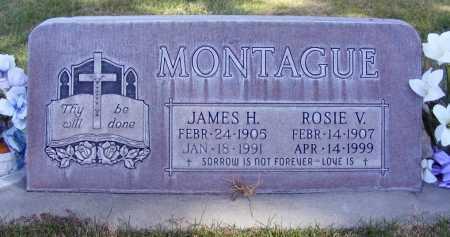 MONTAGUE, JAMES H. - Box Butte County, Nebraska | JAMES H. MONTAGUE - Nebraska Gravestone Photos