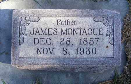 MONTAGUE, JAMES - Box Butte County, Nebraska | JAMES MONTAGUE - Nebraska Gravestone Photos